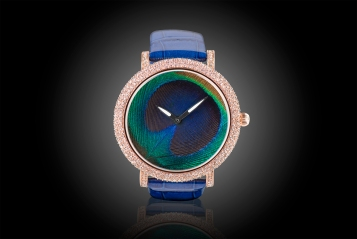 Peacock Feather Watch by Jaipur Watch Company